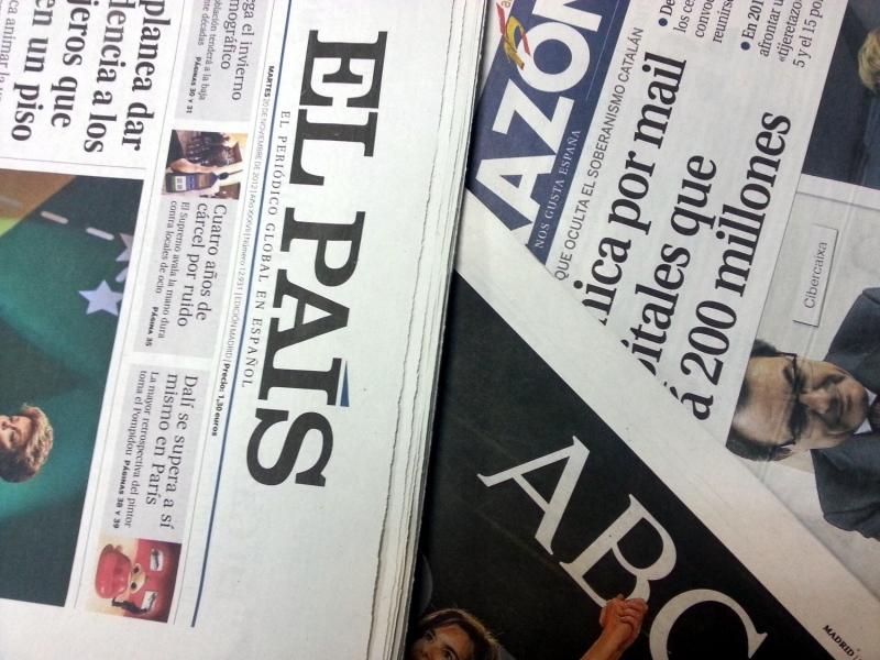 Resultado de imagen para diarios impresos han vuelto a marcar nuevos mínimos históricos